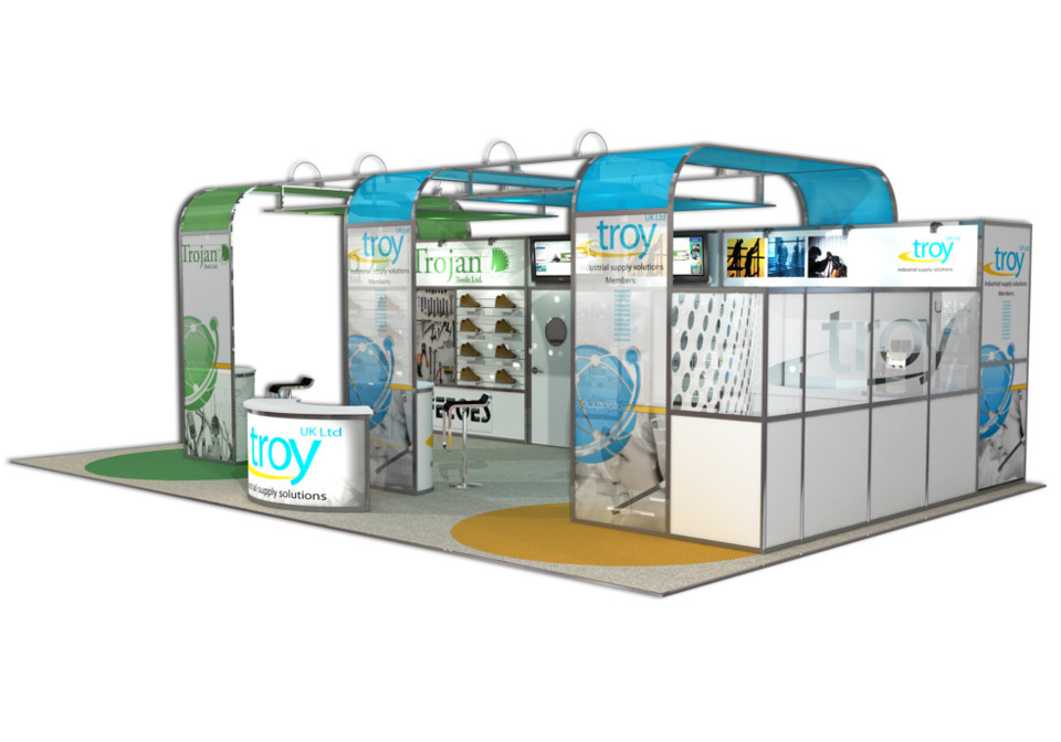 Modular Exhibition Stands Zero : Modular exhibition stands nebrak