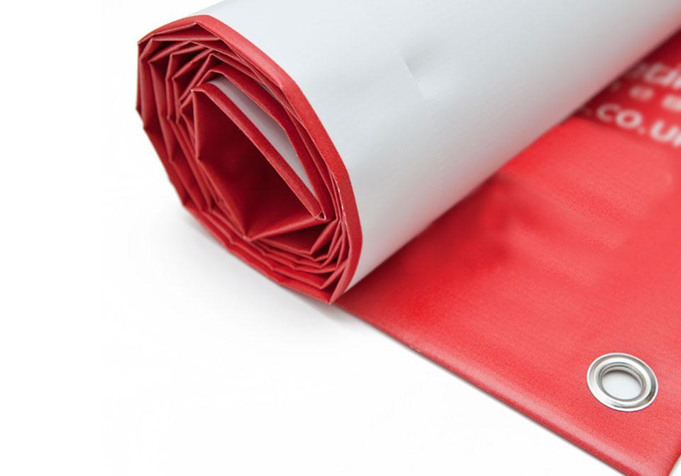 Red Exhibition Banner Design