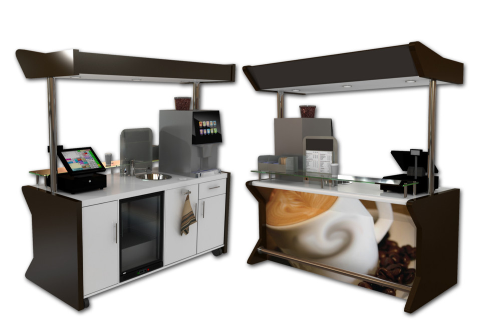 Coffee Carts and Coffee units