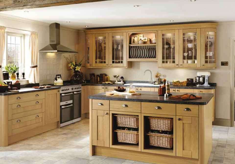 Kitchen Installations and island with storage