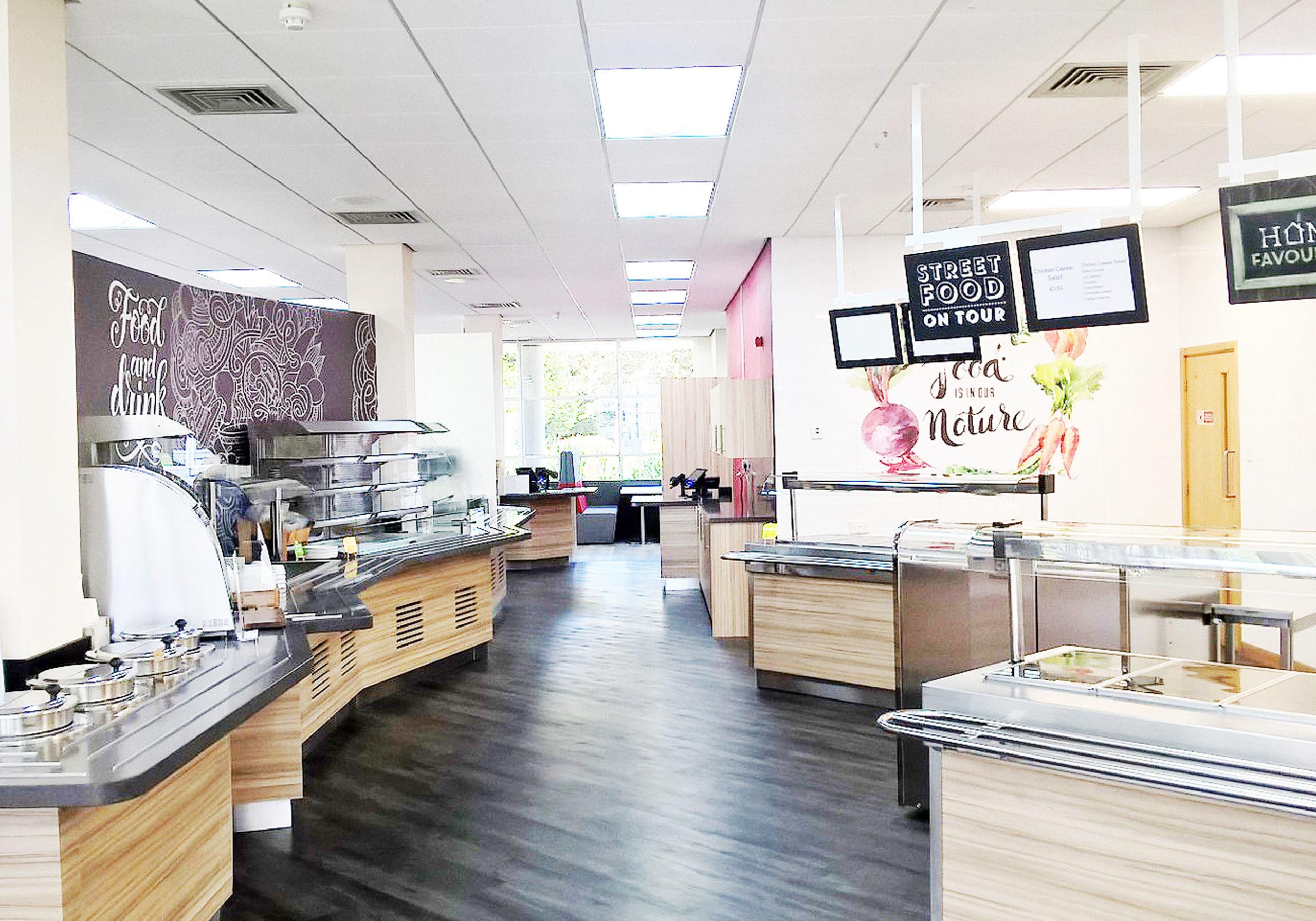 Nebrak Foodservice Area Interior
