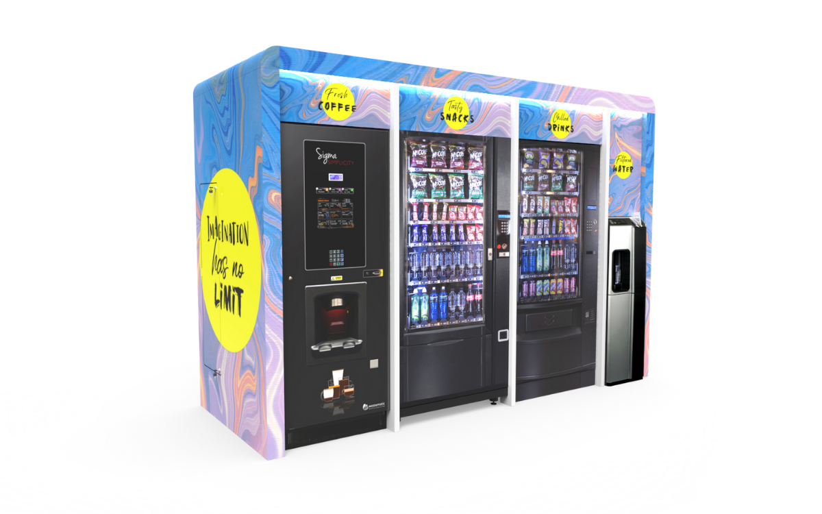 Bespoke Curved Vending Surround