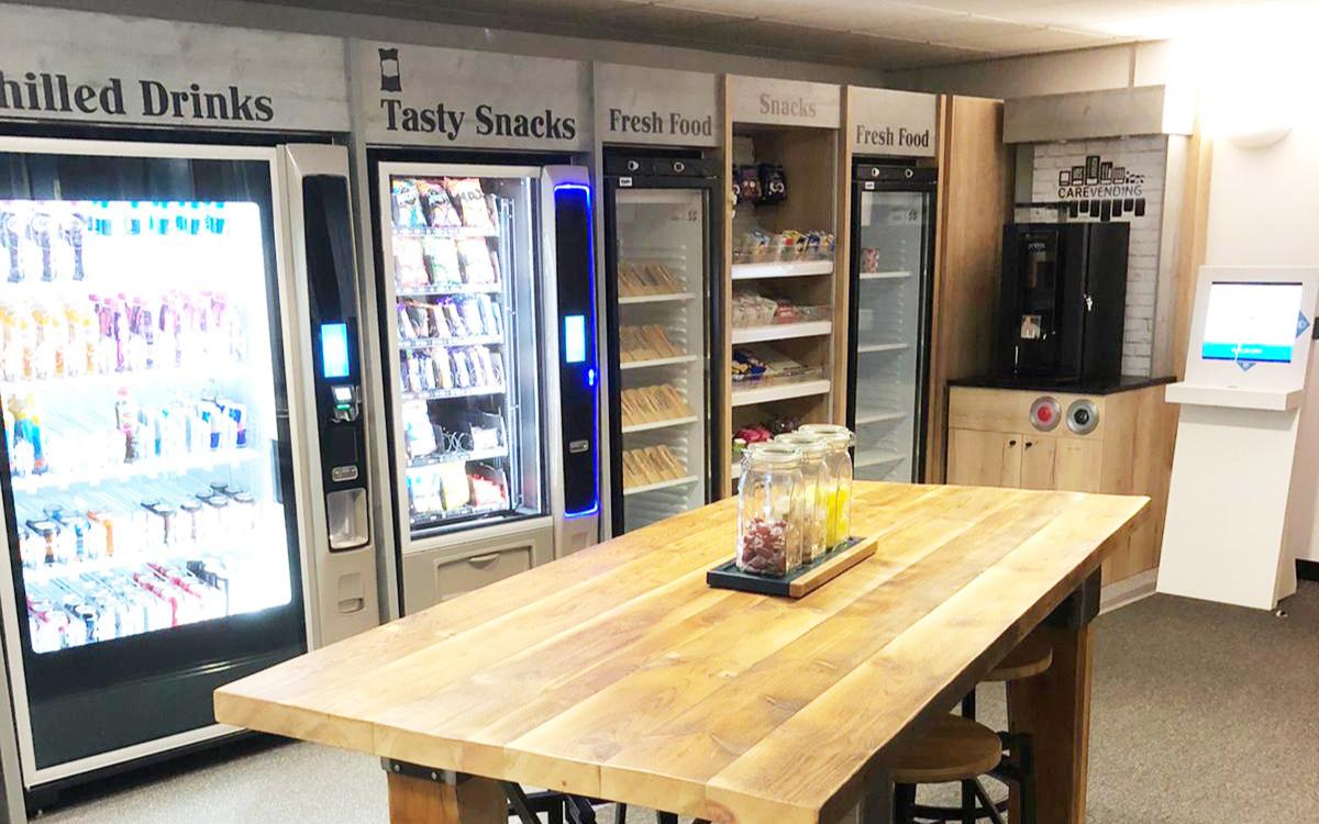 Vending Showroom - Care Vending