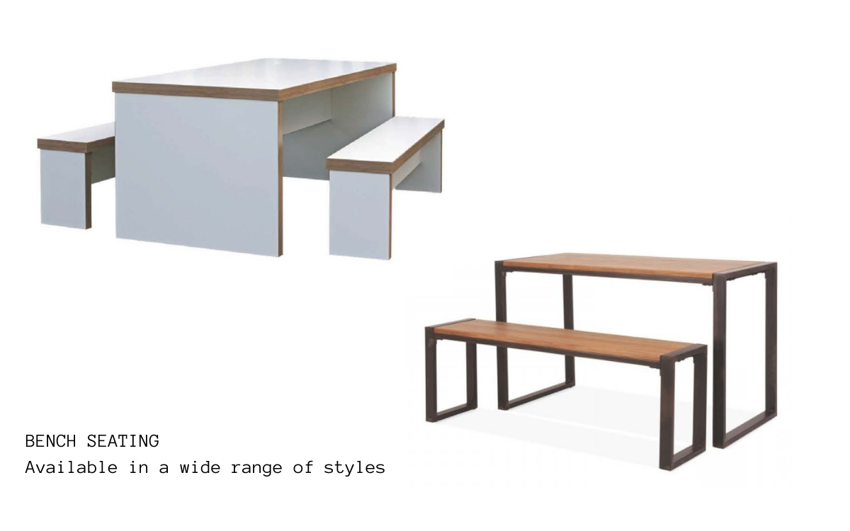 Tables, Chairs & Benches