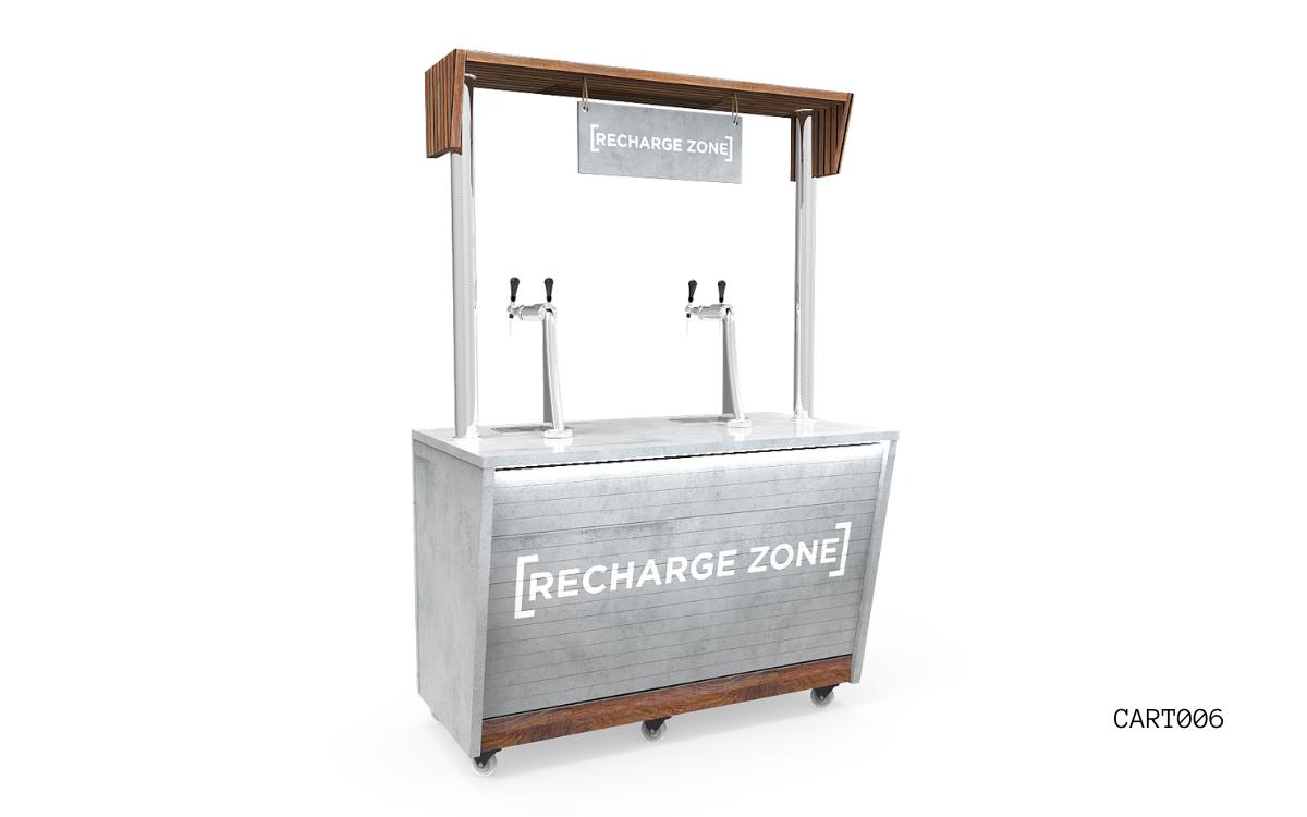 Nebrak Coffee Cart WINGED CART Catering FurnitureS