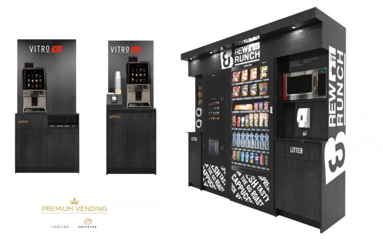 Nebrak Premium Vending for Coffetek