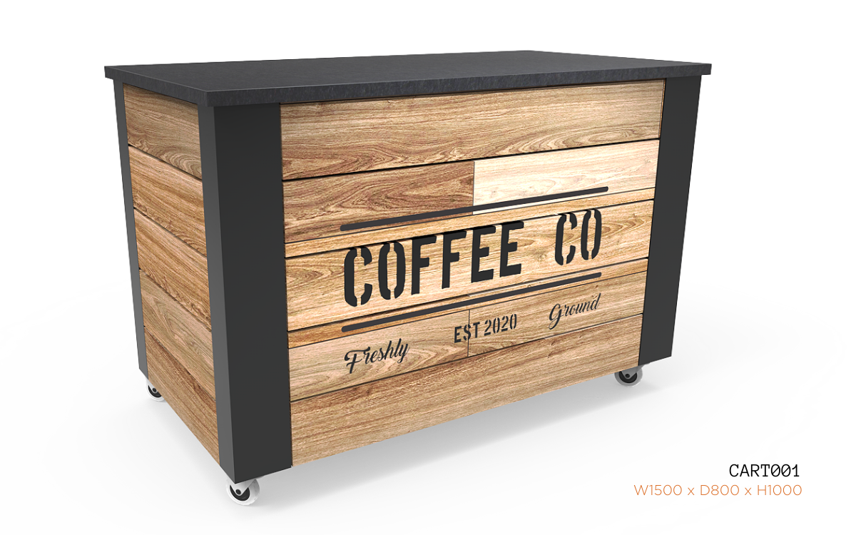 Nebrak Coffee Cart CART001