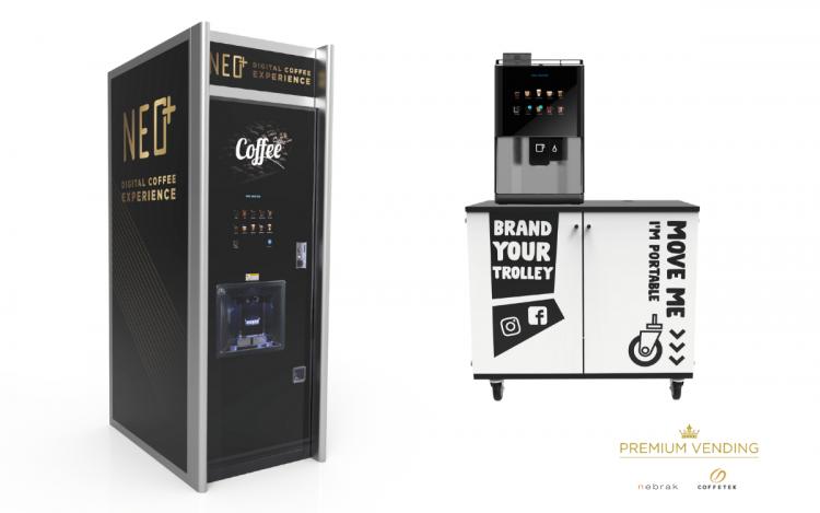 Nebrak Premium VendingSolution for Coffetek