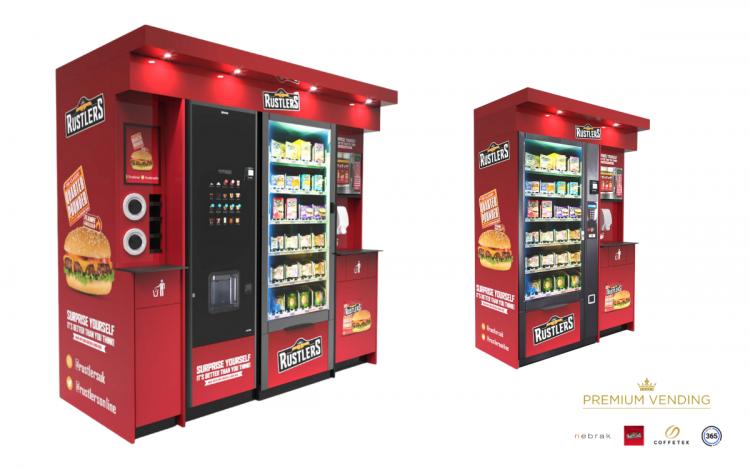 Nebrak Premium Vending for Rustlers Kepak