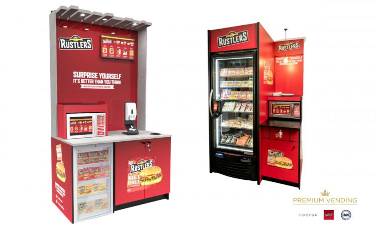 Nebrak Premium Vending Rustlers Kepak