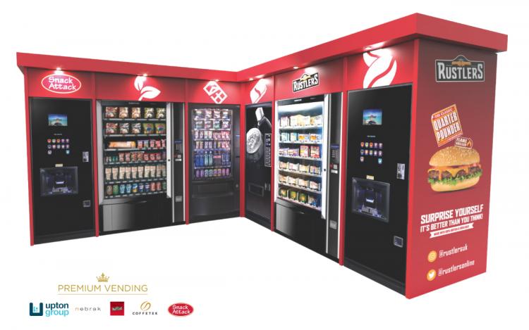 Nebrak Premium Vending for The Upton Group