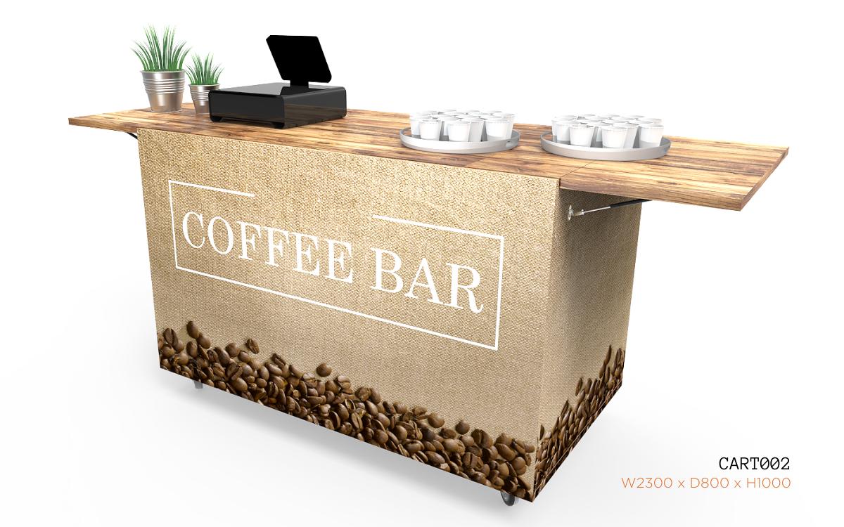 Nebrak Coffee Cart CART002